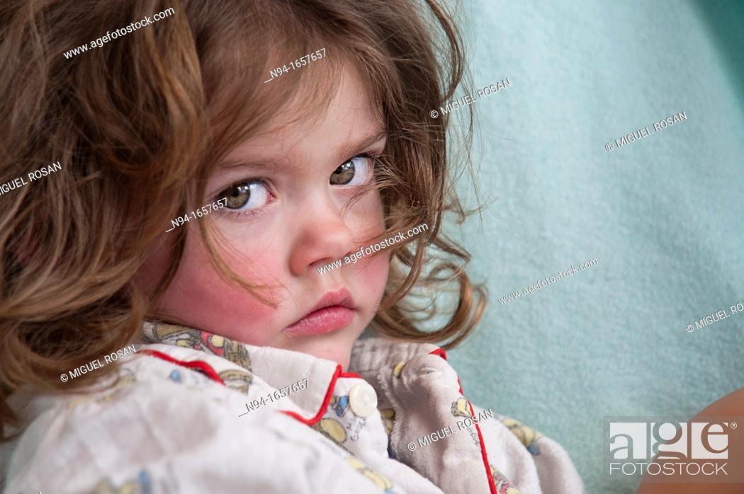 Stock Photo: Little girl portrait.