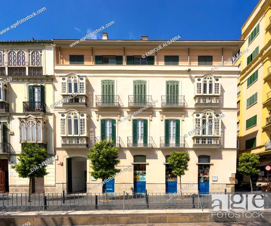 Imagen: Fundación Picasso, Merced Square, Malaga, Andalucia, Spain.