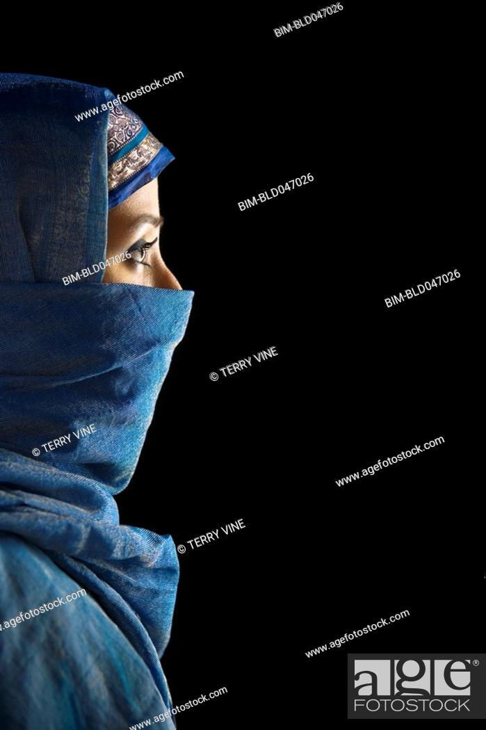 Stock Photo: Indian woman in traditional dress.
