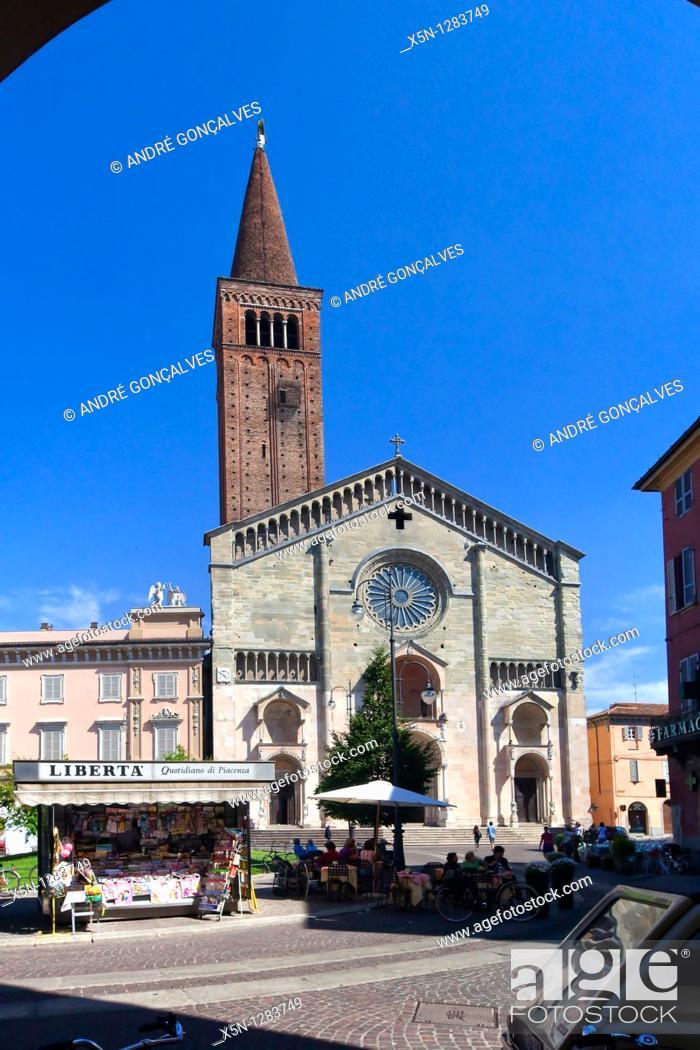 Stock Photo: Piacenza, Italy.