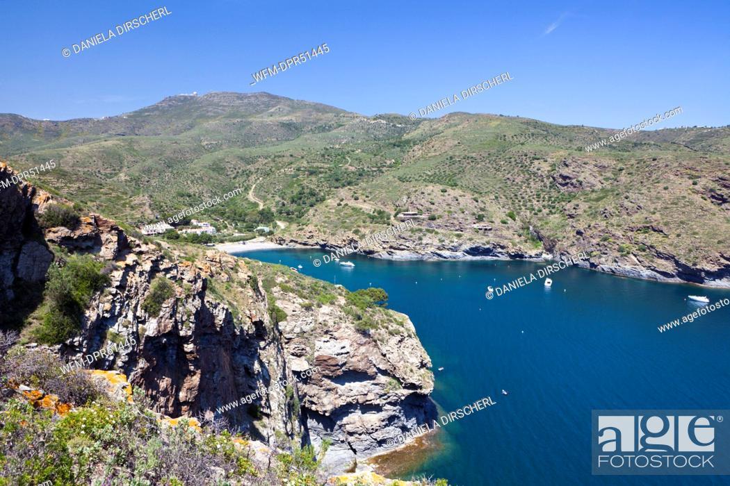 Stock Photo: Bay of Cala Joncols, Cap de Creus, Costa Brava, Spain.
