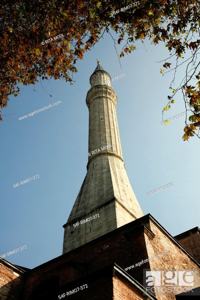 Stock Photo: Türkei, Istanbul, Gebäude im Gülhane-Park.