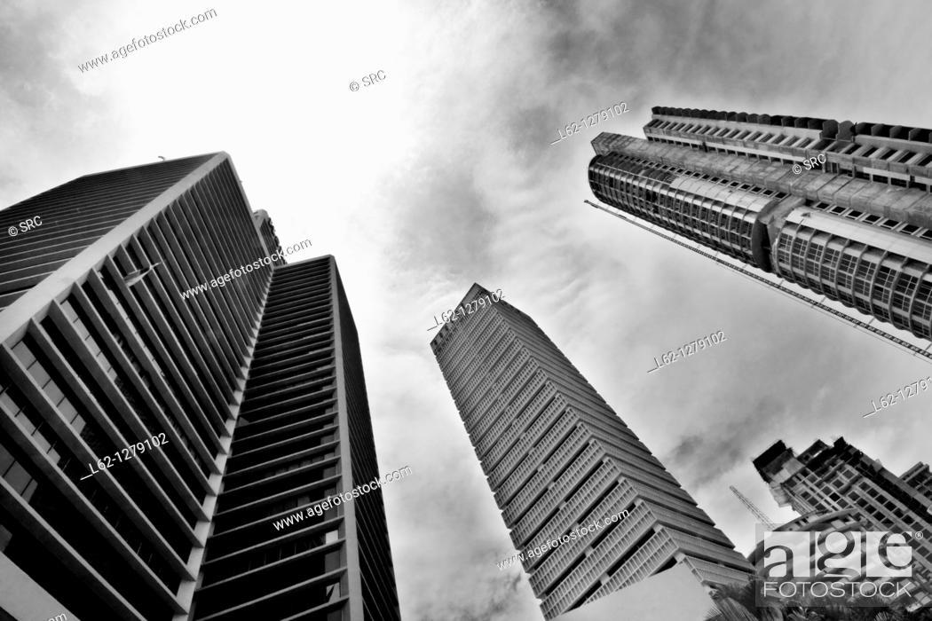 Stock Photo: Buildings, Panama City, Panama.