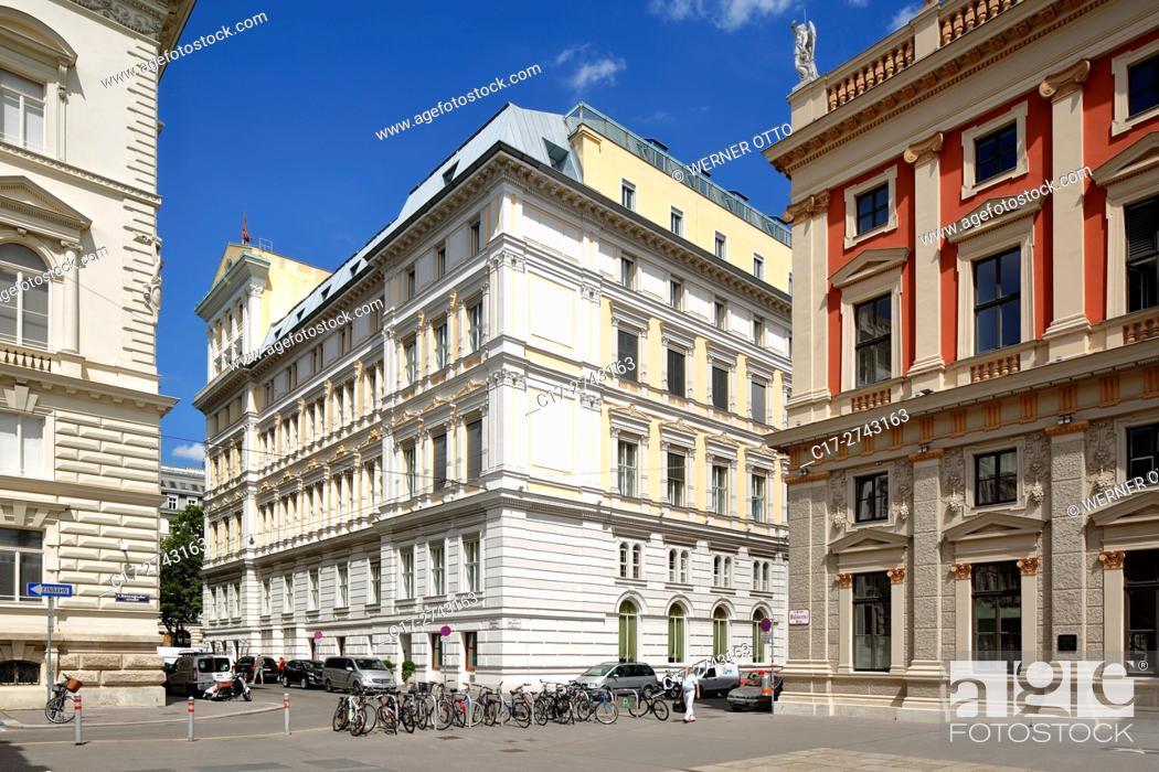 Stock Photo: Austria, A-Vienna, Danube, Federal Capital, Hotel Imperial at the Kaerntner Ring, Vienna Ring Road, palais, Grand Hotel, neo renaissance.
