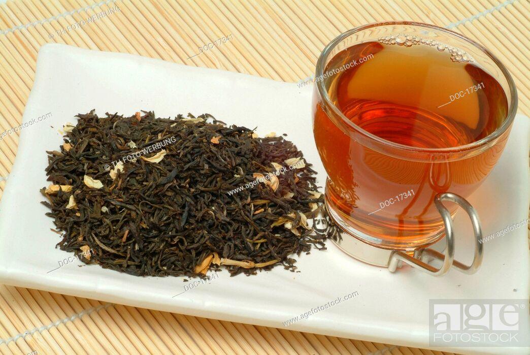 Imagen: Jessamine - Jasminetea - Jessaminetea - medicinal tea - black tea with Jasmine - Gelsemium sempervirens - Jasminum officinale - Gelsomino - Gelsominote - te.