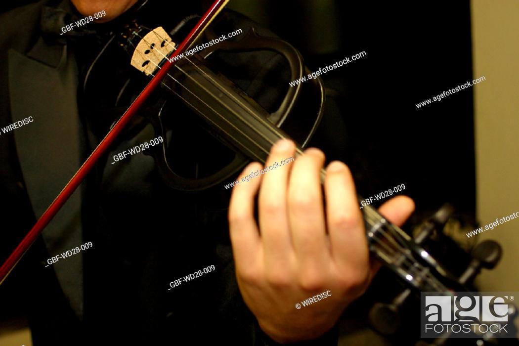 Stock Photo: Music, guitar, violin.