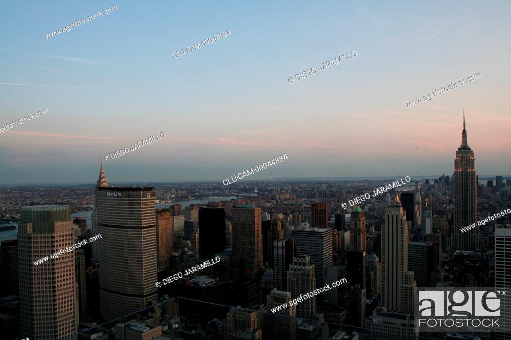 Stock Photo: New York City, Manhattan, New York, United States, North America.