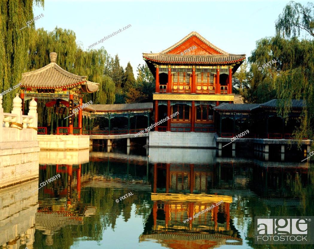 Stock Photo: Grand View Garden. Beijing. China.