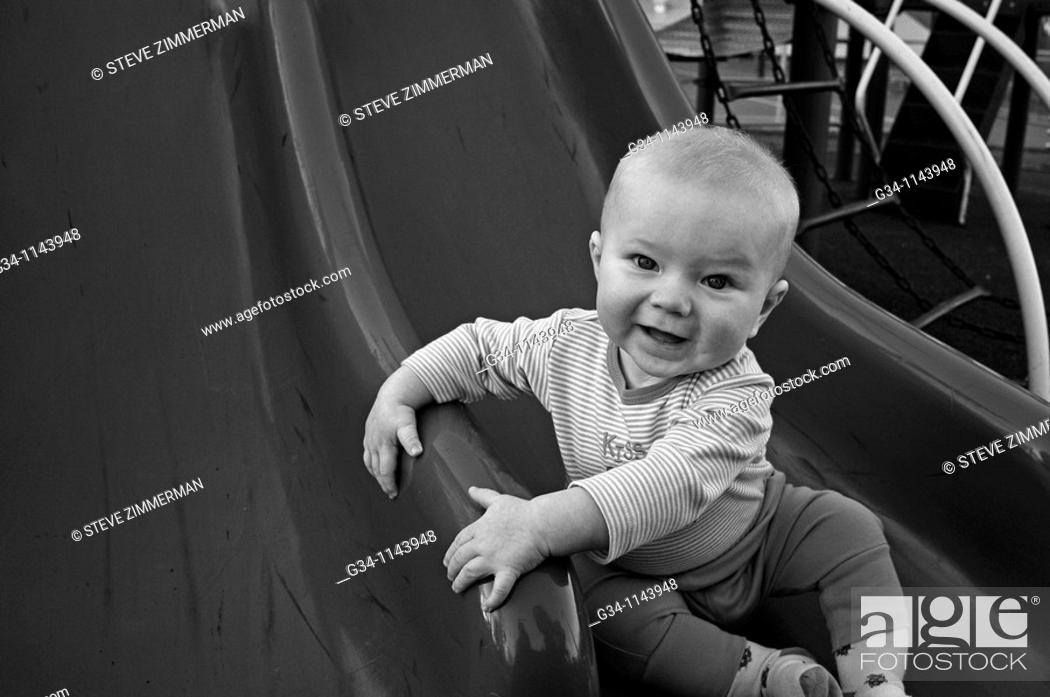 Stock Photo: Toddler.