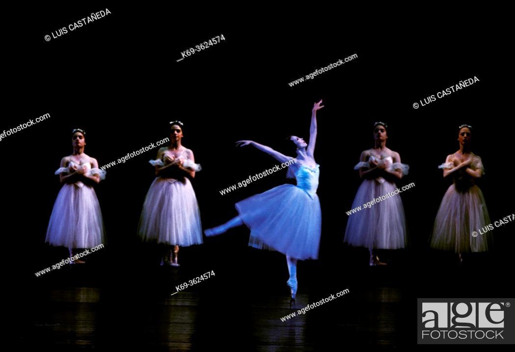 """Stock Photo: Ballet """"""""Giselle"""""""". . Miami. Florida. . USA."""