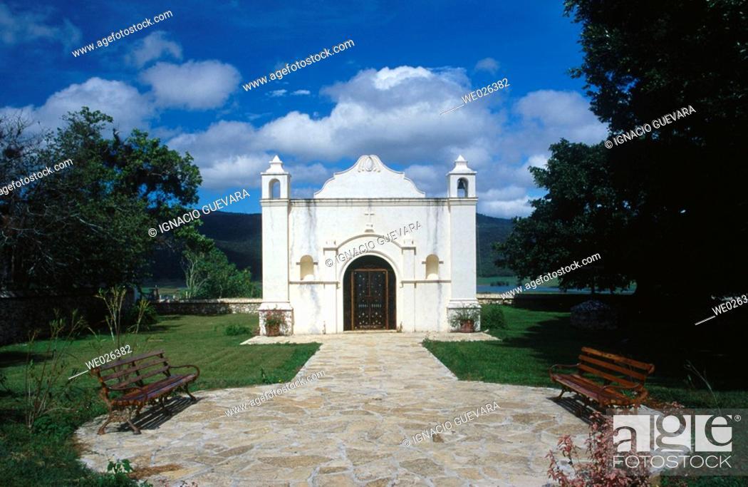Stock Photo: Museum. Hotel Santa Maria. Chiapas, Mexico.