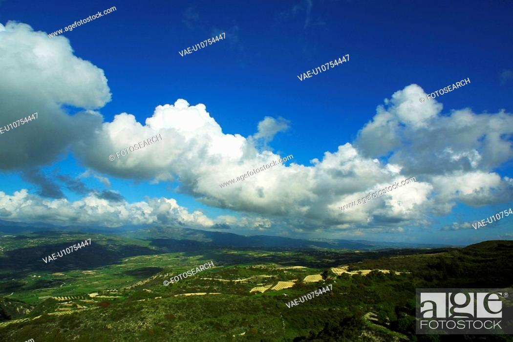 Stock Photo: forest, aerial view, landscape, view, vista, aerial.