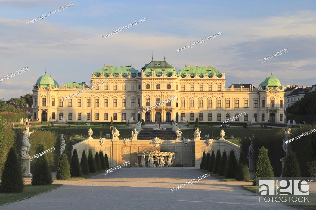 Imagen: Belvedere Palace, Vienna, Austria.