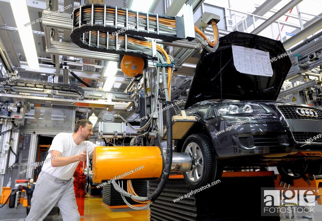 GERMANY : Production of Audi A3 car in Ingolstadt factory