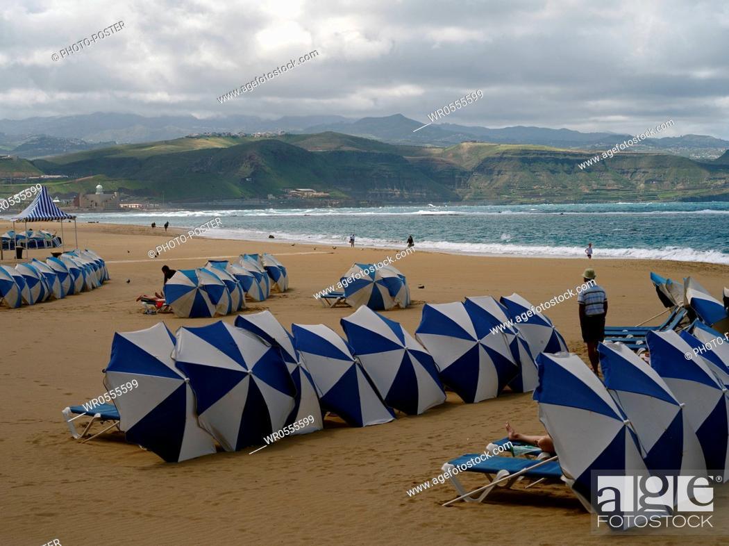 Imagen: Beach on the Atlantic from Las Palmas de Gran Canaria, Spain.