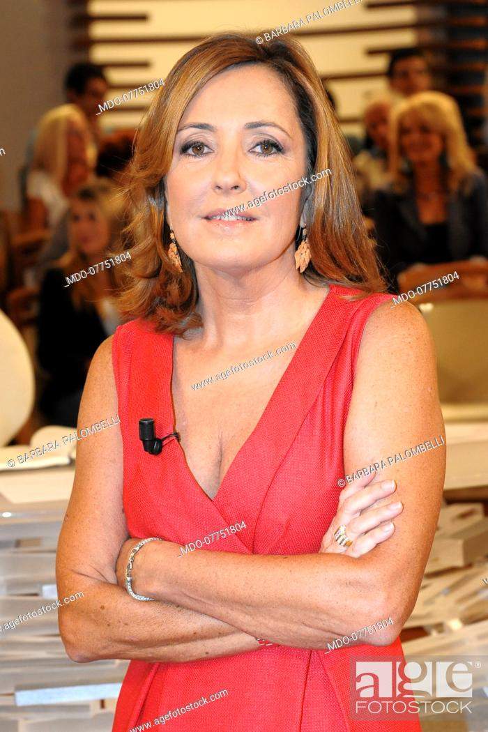 Italian Anchorwoman And Journalist Barbara Palombelli Durin Tv Show Forum Stock Photo Picture And Rights Managed Image Pic Mdo 07751804 Agefotostock