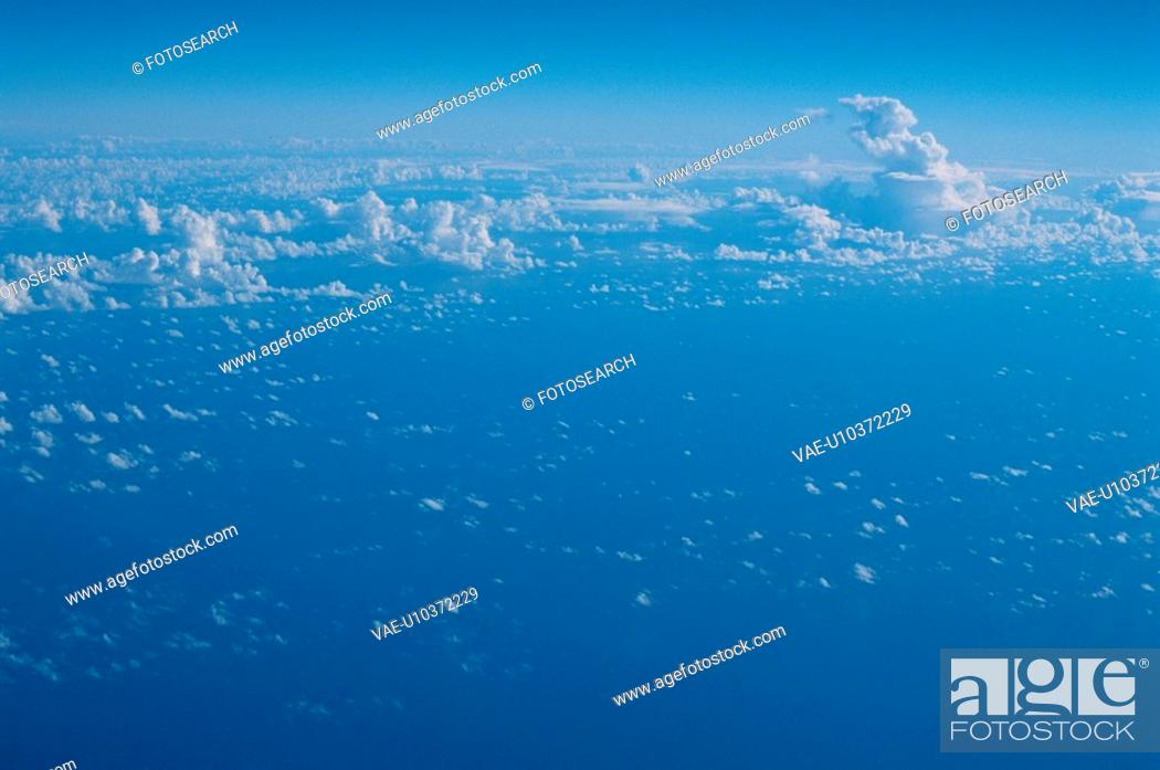 Stock Photo: Sky With Clouds.