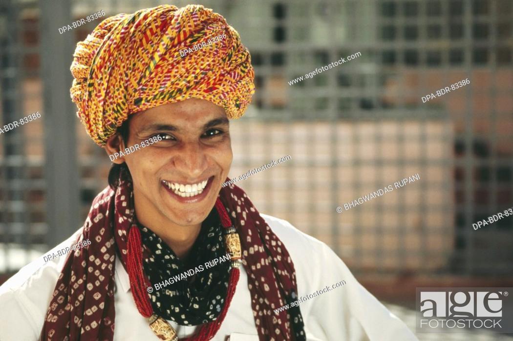 Stock Photo: folk musician , rajasthan , india , MR  NO  657 A.