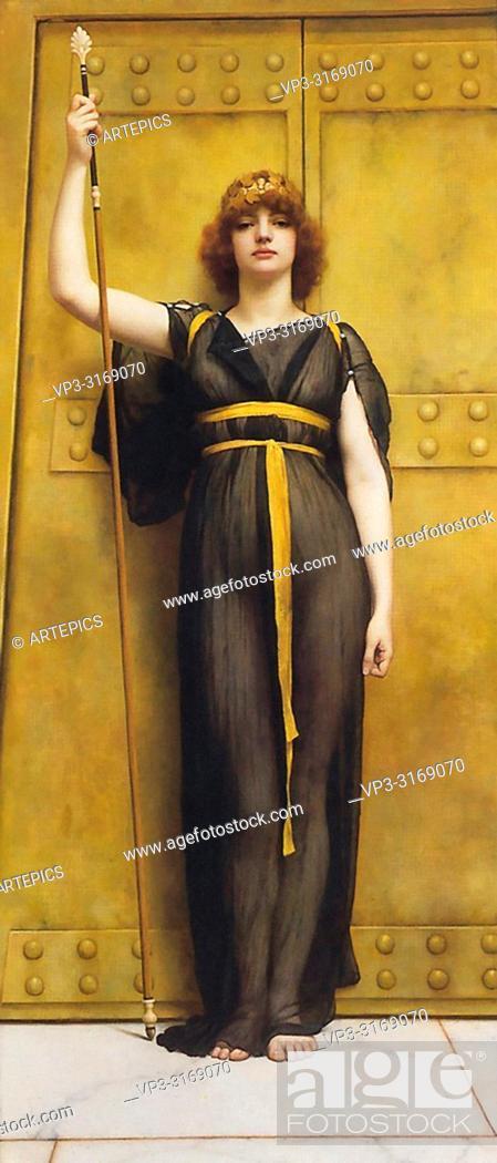 Imagen: Godward John William - a Priestess 2 2.