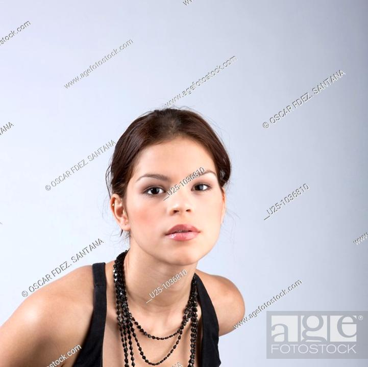 Stock Photo: Pretty young girl.