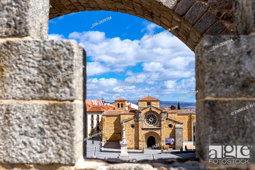 Imagen: San Pedro church, Avila, Castilla y Leon, Spain.