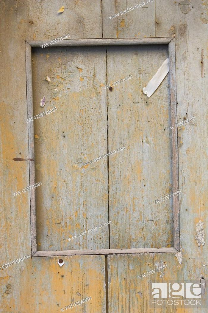 Stock Photo: Close-Up, Door, Frame, Full Frame.