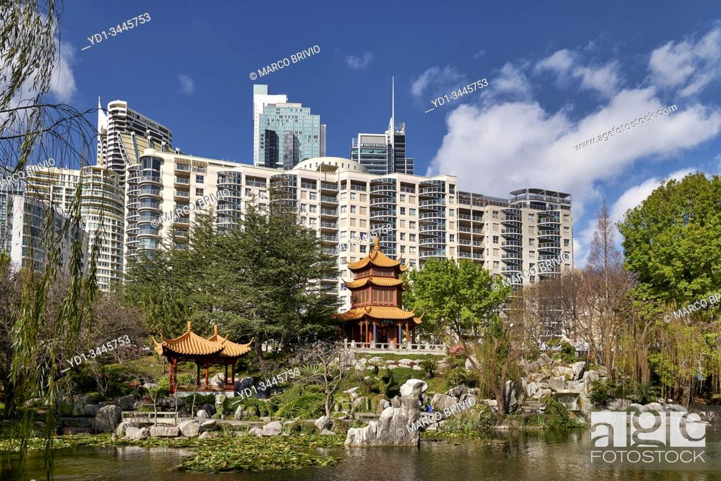 Stock Photo: Sydney Australia. Chinese Garden of Friendship.