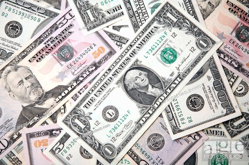 Stock Photo: Dollars.
