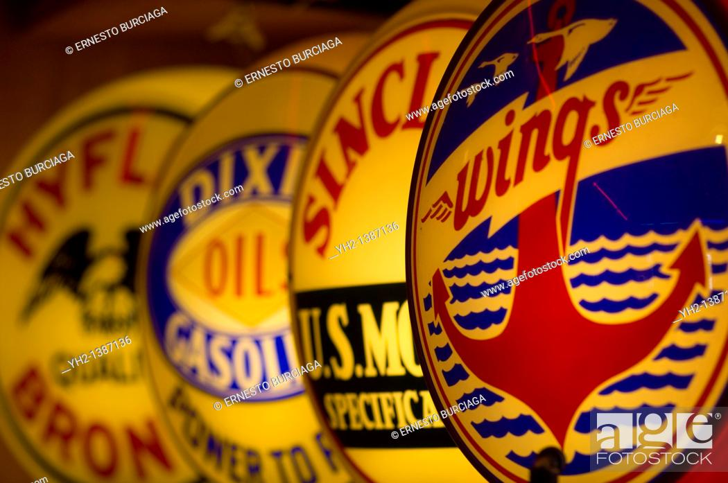 Stock Photo: Classical Gas Museum in Embudo, New Mexico.