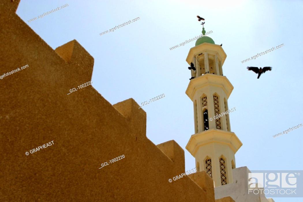 Stock Photo: Al Musanaah mosque, Oman.