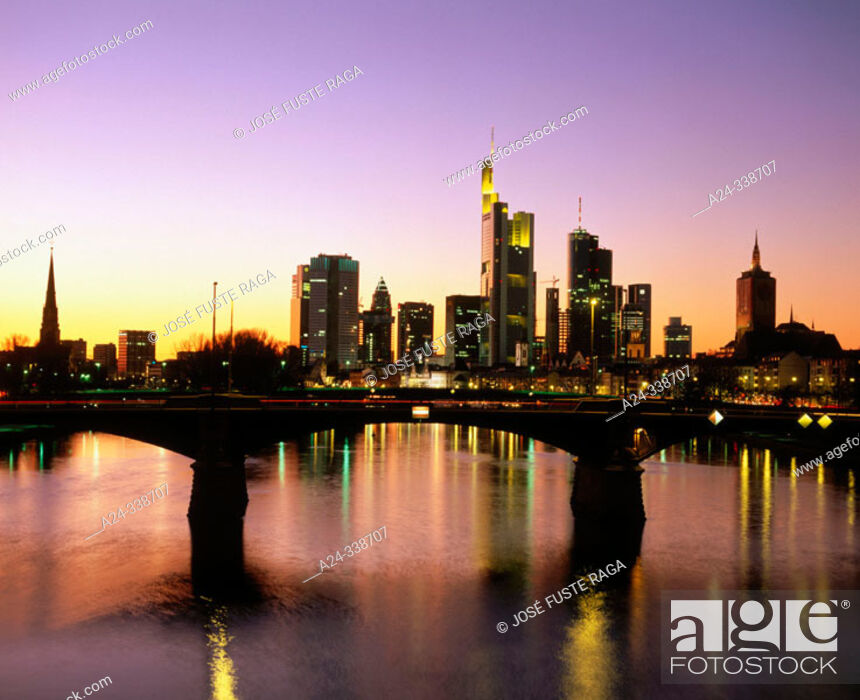 Stock Photo: Frankfurt am Main. Germany.