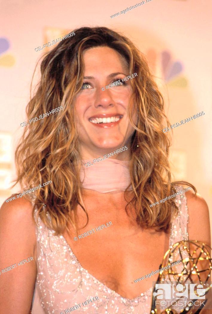 Jennifer Aniston At The EMMY AWARDS 9 22 2002 LA CA By Robert