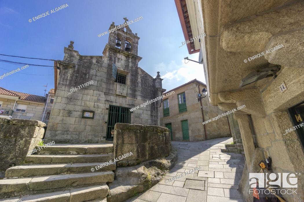 Imagen: Combarro, Pontevedra, Galicia, Spain.