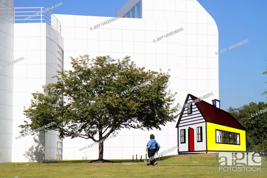 Georgia, Atlanta, Woodruff Arts Center, High Museum of Art, outdoor ...