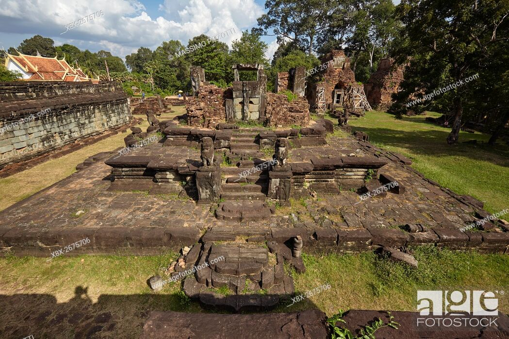 Imagen: Prasat Bakong temple, Siem Reap, Cambodia.
