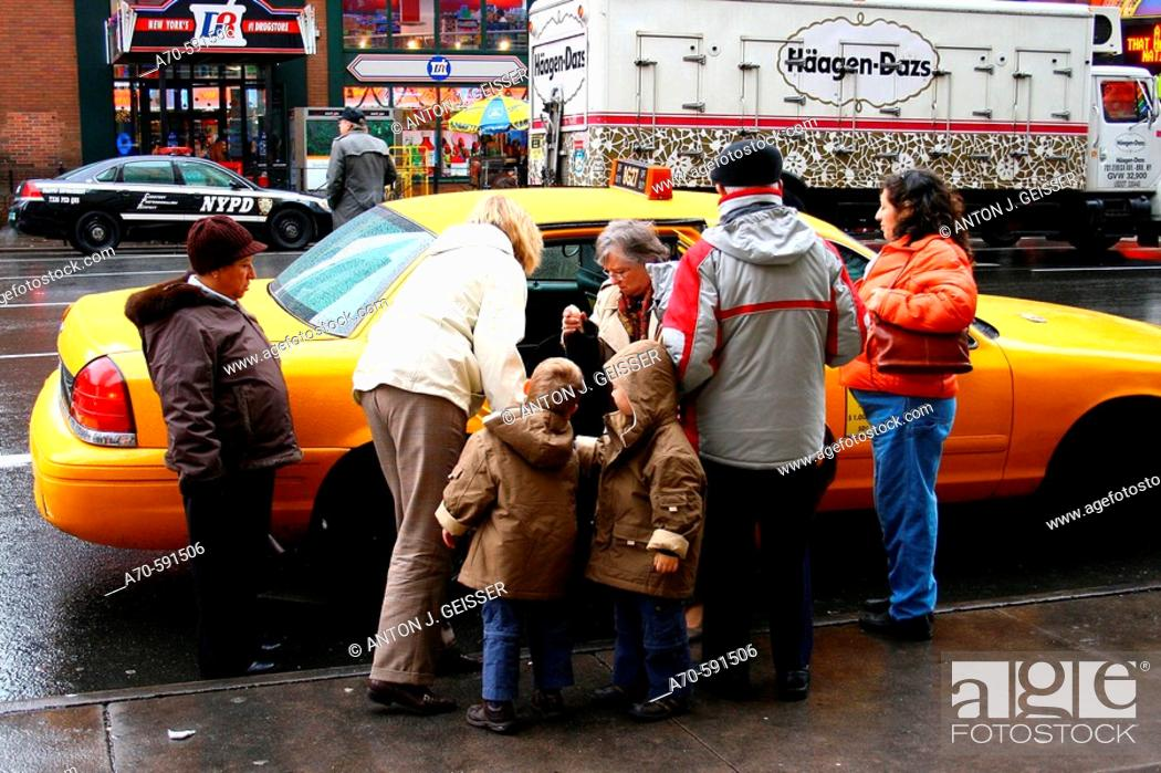 Stock Photo: Taxi. New York City, USA.