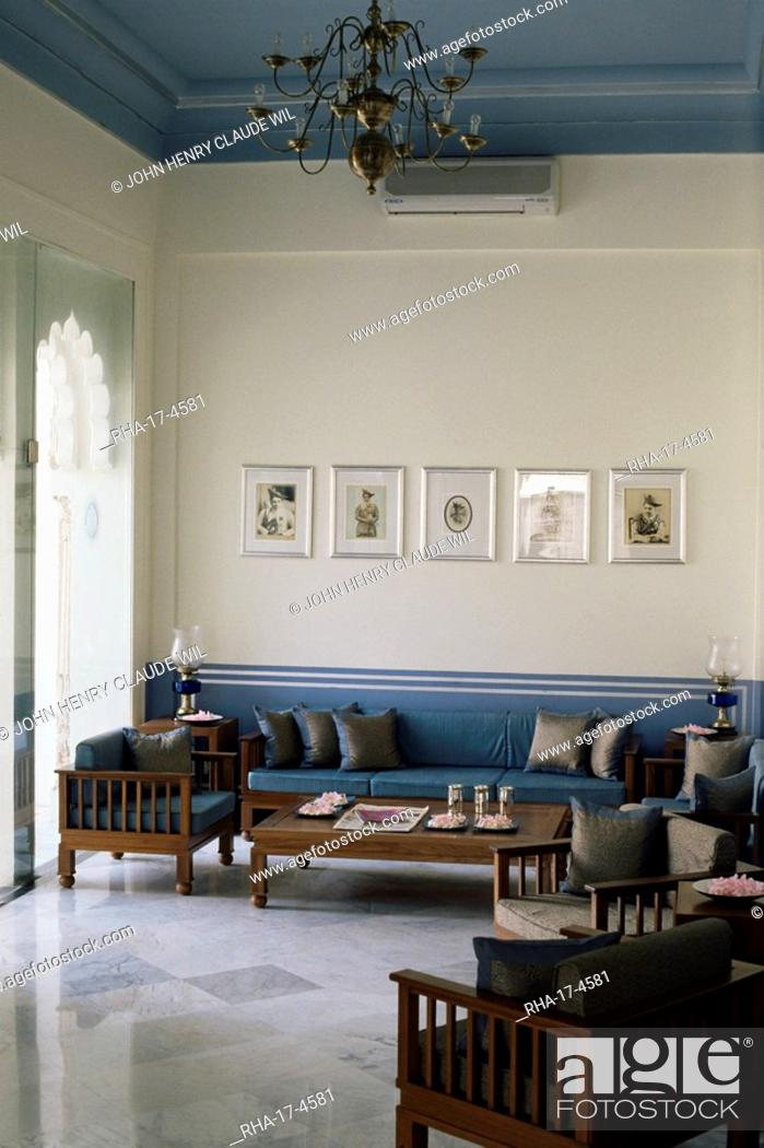 Sitting Area In One Of The Bedroom Suites Usha Kiran Palace