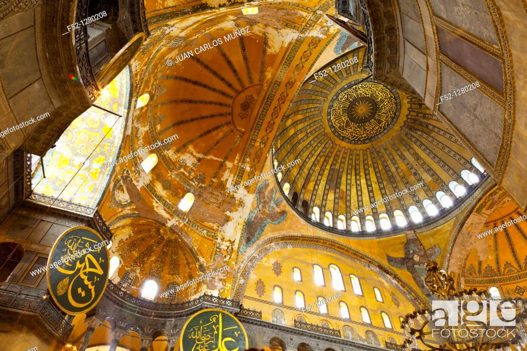 Stock Photo: St Sophia, Istanbul, Turkey.