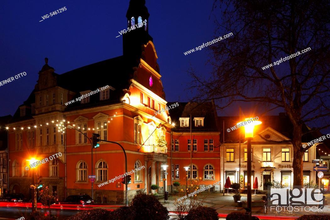 Otto Weihnachtsbeleuchtung.Deutschland Essen Werden 03 01 2016 D Essen Ruhrgebiet