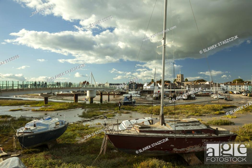 Imagen: Autumn afternoon on river Adur in Shoreham-by-Sea, West Sussex, England.