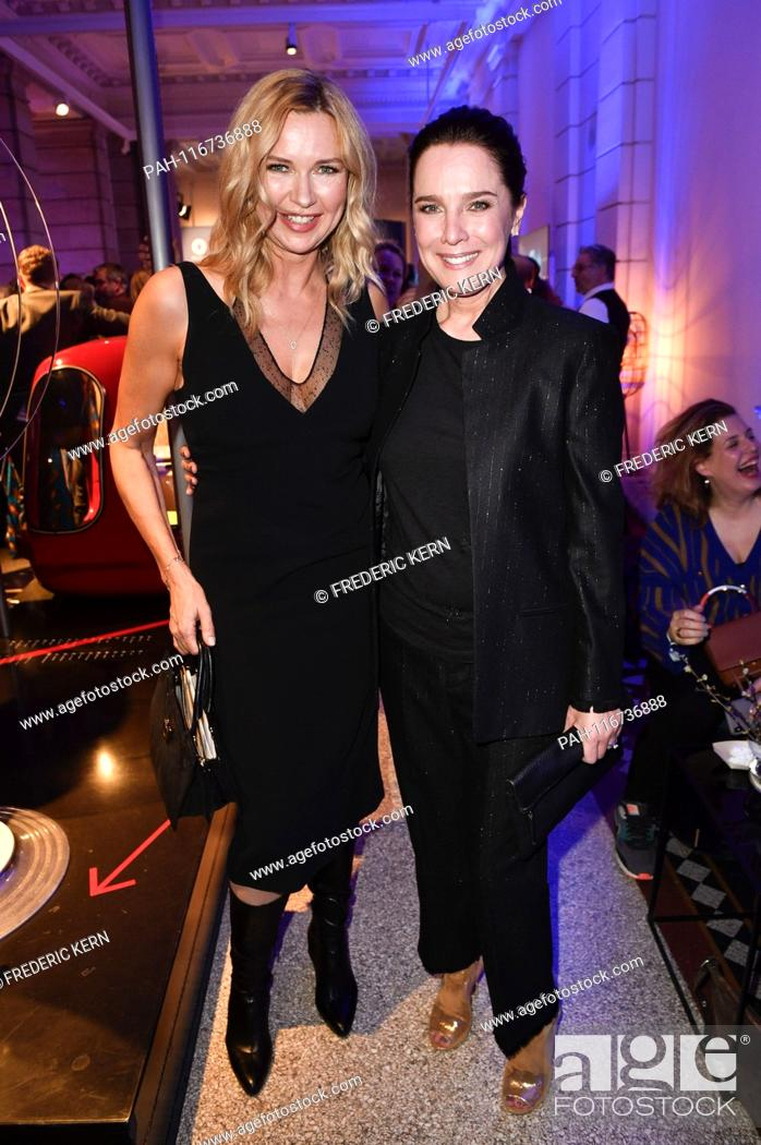 Imagen: Veronica Ferres and Desiree Nosbusch at the ARD Blue Hour during the Berlinale 2019 at the Museum of Communication. Berlin, 08.02.