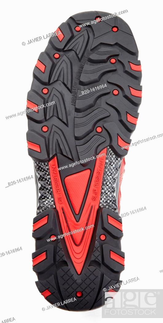 Stock Photo: Sole, Protective boot, Safety shoes, Footwear for professional use,.