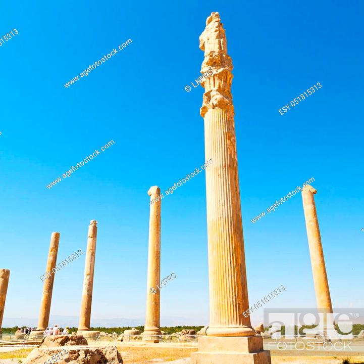 Blur In Iran Persepolis The Old Ruins Historical Destination Monuments And Ruin Stock Photo Picture And Low Budget Royalty Free Image Pic Esy 051815313 Agefotostock