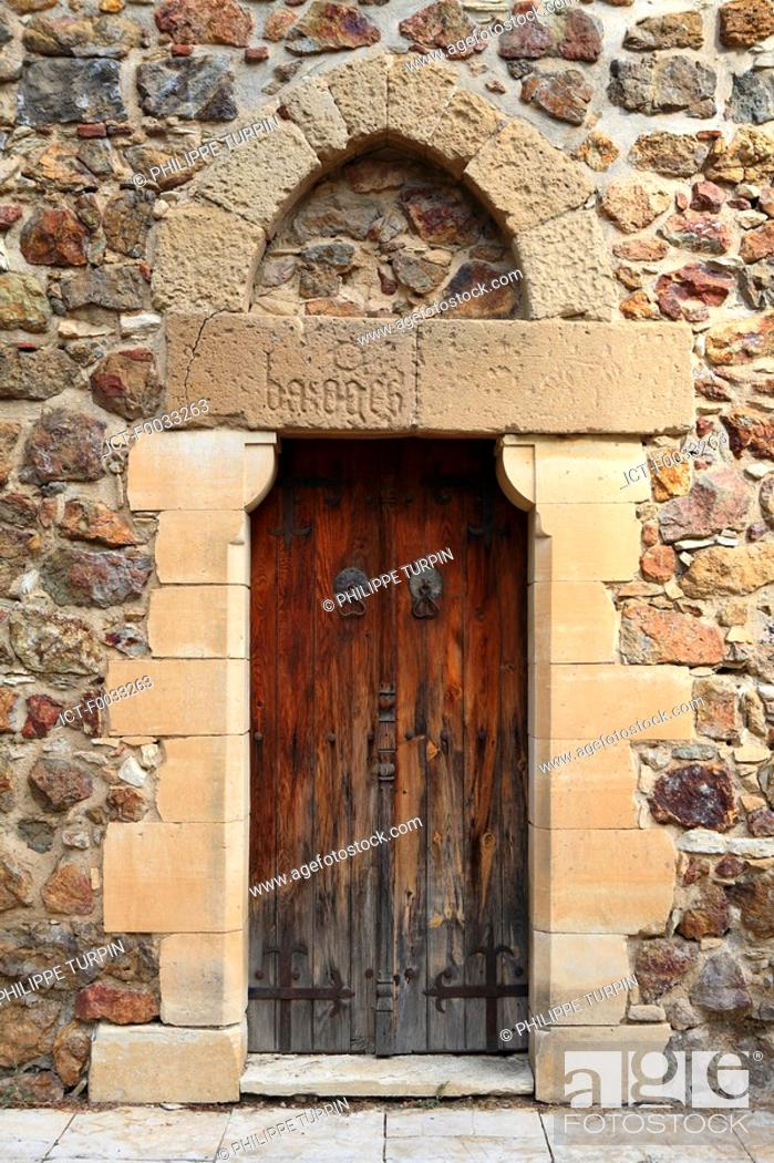 Stock Photo: Cyprus, detail of the chapel of Pyrga.