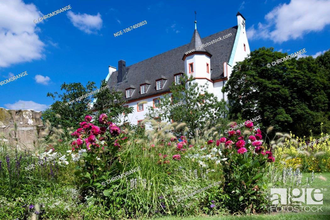 Stock Photo: Deutschherrenhaus, Koblenz, Rhineland Palatinate, Germany, Europe.