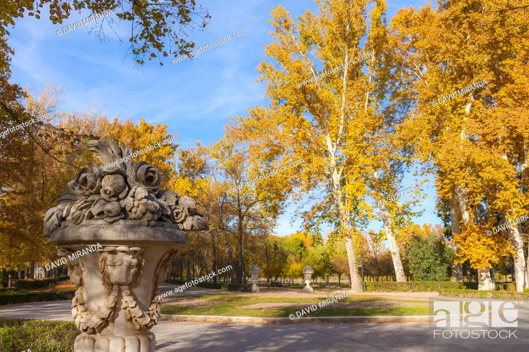 Stock Photo: Jardín del Príncipe. Aranjuez. Madrid province, Spain.