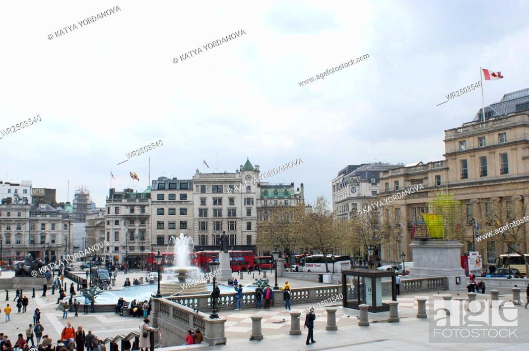 Imagen: Trafalgar Square.