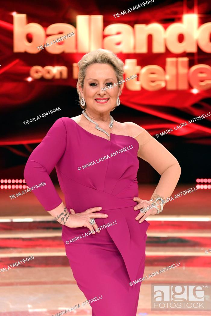 Imagen: Carolyn Smith at the talent show ' Ballando con le stelle ' (Dancing with the stars) Rome, ITALY-14-04-2019.