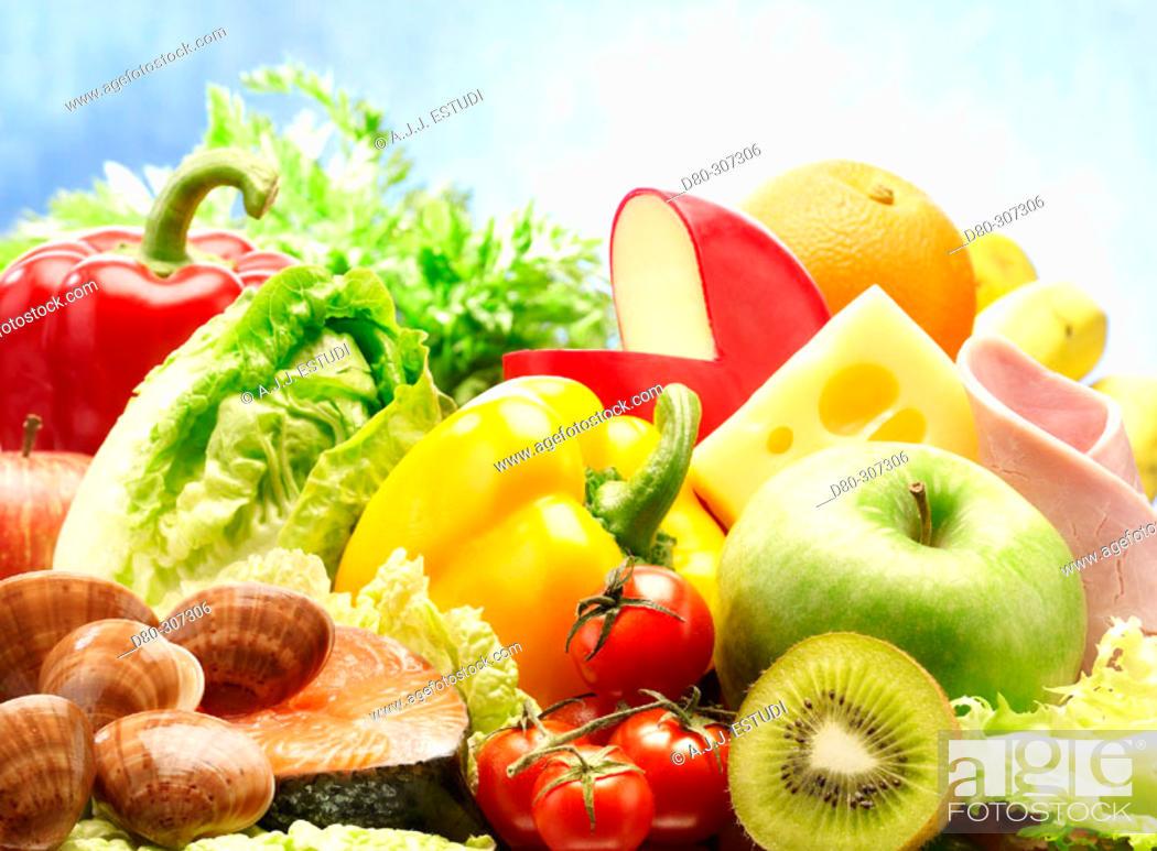 Stock Photo: Fresh produce.