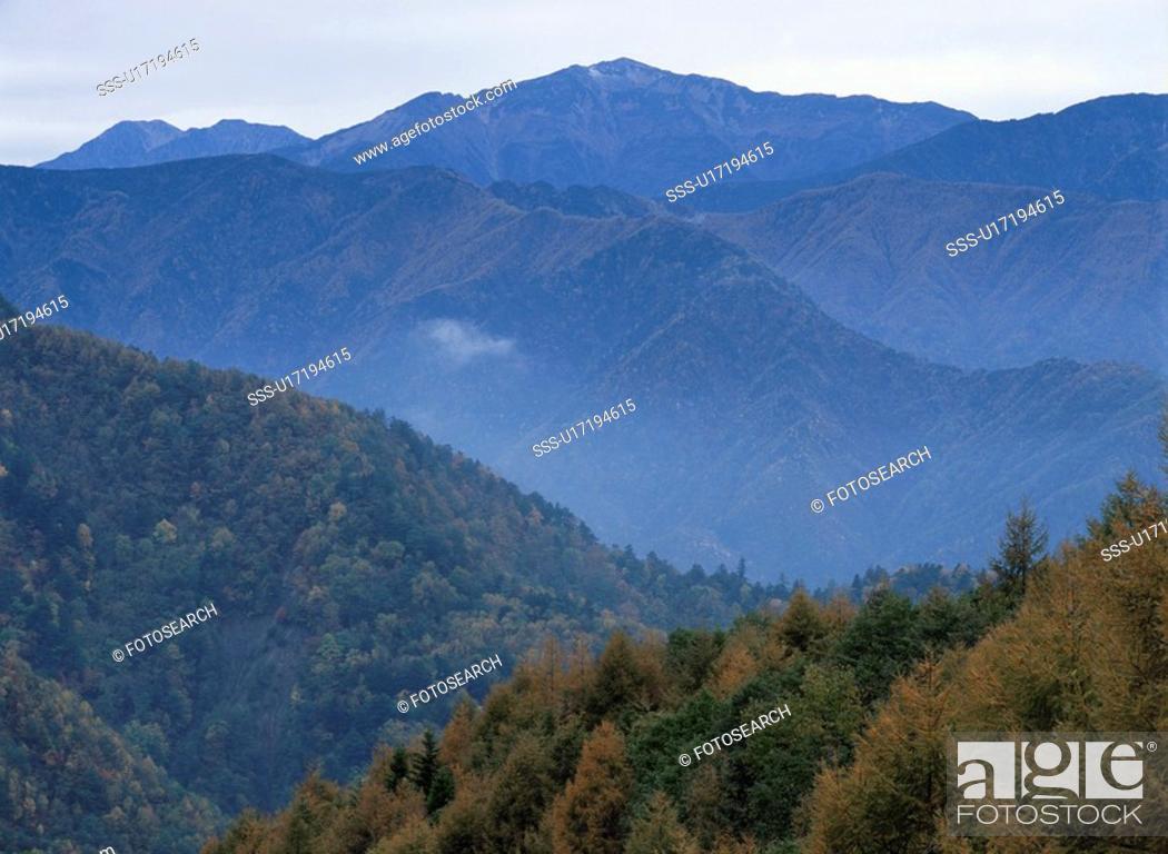 Stock Photo: Minami-Alps.